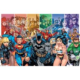 DC Comics Hero Plakat