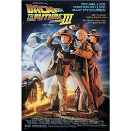 Back To The Future: Part 3 - Film Plakat