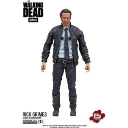The Walking Dead TV Version Action Figure Constable Rick Grimes 13 cm