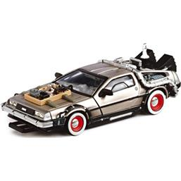 Back To The Future: Part 3 - Deluxe Flight DeLorean 1:43 replica