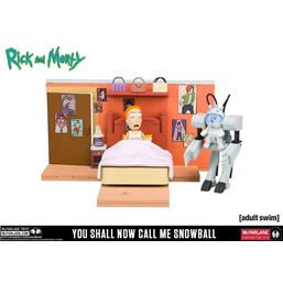 Rick and Morty: Rick and Morty Medium Construction Set You Shall Now Call Me Snowball