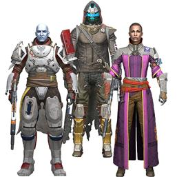Destiny 2 Action Figures 18 cm 3-pack
