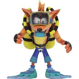 Crash Bandicoot: Crash Bandicoot Deluxe Action Figure Scuba Crash 14 cm