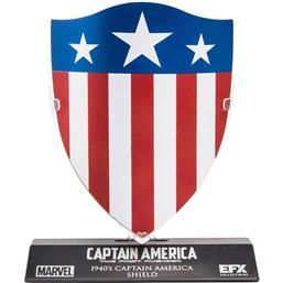 Captain America's 1940's Shield Replica 1/6 10 cm