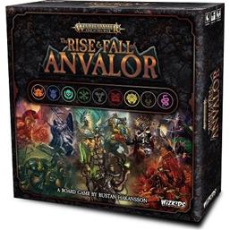 Warhammer: Warhammer Age of Sigmar Board Game The Rise & Fall of Anvalor *English Version*