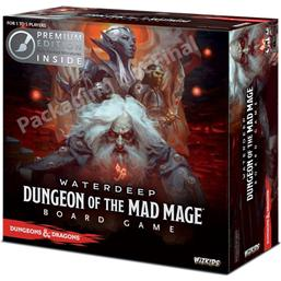 Dungeons & Dragons: Dungeons & Dragons Board Game Waterdeep Dungeon of the Mad Mage Premium Edition *English Version*