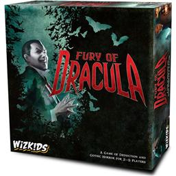 Dracula: WizKids Board Game Fury of Dracula 4th Edition *English Version*