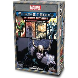 Marvel: Marvel HeroClix Board Game Expansion Pack Strike Teams: Avengers Initiative *English Version*