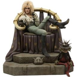 Labyrinth: Labyrinth Statue 1/4 Jareth on Throne 48 cm