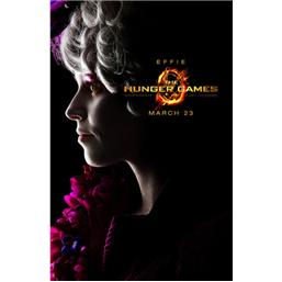 Hunger Games: Effie Trinket Plakat