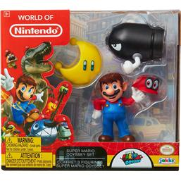 World of Nintendo Mini Figure 3-Pack Super Mario Odyssey 6 cm