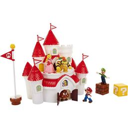 World of Nintendo Deluxe Playset Super Mario Mushroom Kingdom Castle