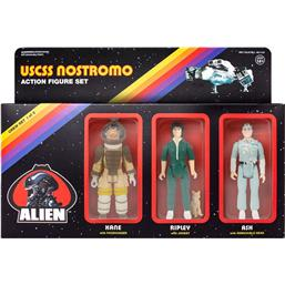 Alien ReAction Action Figure 3-Pack Pack A 10 cm