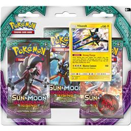Pokémon: Vikavolt - Sun and Moon Guardians Rising 3-Pak