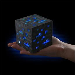 Minecraft: Diamond ore natlampe