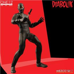 Diabolik Action Figure One:12 17 cm
