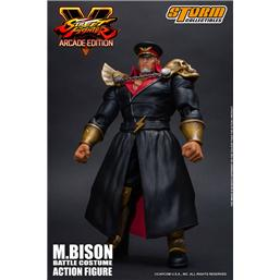 Street Fighter: Street Fighter V Arcade Edition Action Figure 1/12 M. Bison Battle Costume 18 cm
