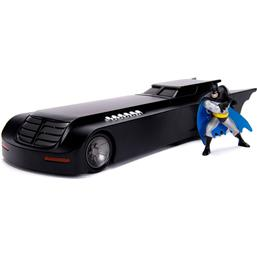 Batman Animated Series Metals Diecast Model 1/24 Batmobile with figure