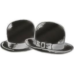 Bowler Hats Metal Pin