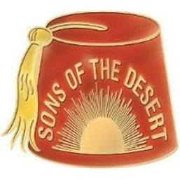 Sons of the Desert Metal Pin