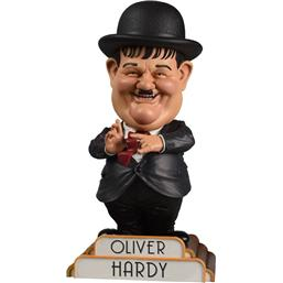 Gøg og Gokke: Gokke Bobble-Head Oliver Hardy in Suit 20 cm