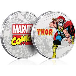 Thor: Marvel Collectable Coin Thor (silver plated)