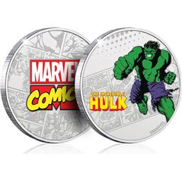 Marvel Collectable Coin Hulk (silver plated)