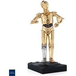 Star Wars: Star Wars Pewter Collectible Statue C-3PO Limited Edition 23 cm