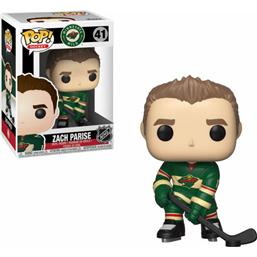 NHL: Zach Parise NHL POP! Hockey Vinyl Figur (#41)
