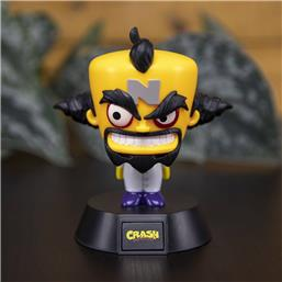 Crash Bandicoot: Doctor Neo Cortex 3D Icon Light 10 cm