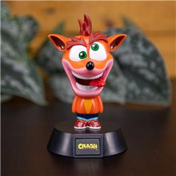 Crash Bandicoot: Crash Bandicoot 3D Icon Light 10 cm