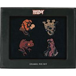 Hellboy Pin & Badges 4-Pak