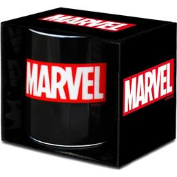 Sort Marvel Logo Krus