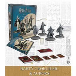 Harry Potter: Harry Potter Miniatures 35 mm 4-pack Wizarding Wars Barty Crouch Sr. & Aurors *English*