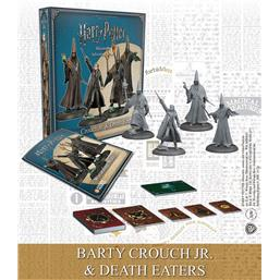 Harry Potter: Harry Potter Miniatures 35 mm 4-pack Wizarding Wars Barty Crouch Jr. & Death Eaters *English*