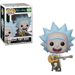 Tiny Rick POP! Animation Vinyl Figur (#489)
