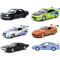 Fast & Furious: Fast & Furious Diecast Models 1/32 6-Pack - Series B