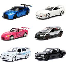 Fast & Furious: Fast & Furious Diecast Models 1/32 6-Pack - Series A