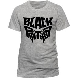 Black Panther: Black Panther Movie T-Shirt Text Logo
