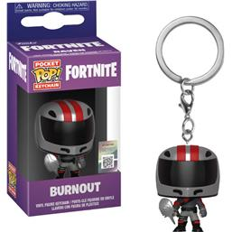 Burnout Pocket POP! Vinyl Nøglering