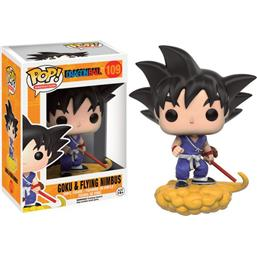 Dragonball: Goku and Flying Nimbus POP! Animation Vinyl Figur (#109)