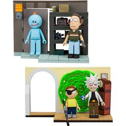 Rick and Morty: Rick and Morty Small Construction Set Wave 1 2-Pack