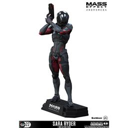 Mass Effect: Mass Effect Andromeda Color Tops Action Figure Sara Ryder 18 cm