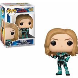 Captain Marvel: Vers POP! Marvel Vinyl Bobble-Head Figur (#427)