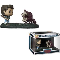 Steve og Demodog POP! Movie Moments Vinyl Bobble-Head 2-Pak