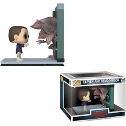 Eleven og Demogorgon POP! Movie Moments Vinyl Bobble-Head 2-Pak