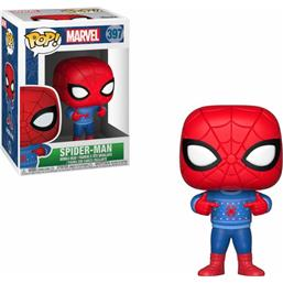 Spider-Man (Ugly Sweater) POP! Marvel Holiday Vinyl Bobble-Head (#397)