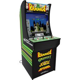 Retro Gaming: Arcade1Up Mini Cabinet Arcade Game Rampage 122 cm