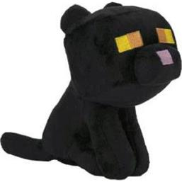 Minecraft: Black Cat Bamse 18 cm