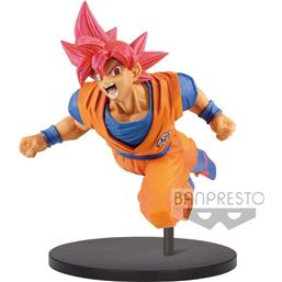 Dragonball Super Son Goku Fes PVC Statue Super Saiyan God Son Goku 20 cm